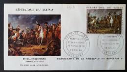 TCHAD - FDC 1969 - YT Aérien N°63 - Napoléon Bonaparte - Tchad (1960-...)