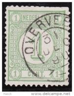 Overveen Op Nr 31  Cw Kleinrond Stempel  &euro  5,00 - Oblitérés