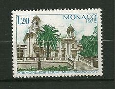 """MONACO  1975    N° 1016    """"  Année Européenne Du Patrimoine Architectural ( Villa Sauber ) """"    NEUF - Monaco"""