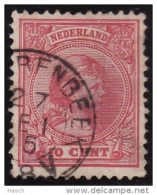 Hilvarenbeek Op Nr 37 (miniem Dun Plekje Re.b.3) Cw Kleinrond Stempel  &euro  12,50 - Oblitérés