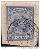 Midwolde (Scheemda) Op Nr 35  Cw Kleinrond Stempel  &euro  15,00 - Oblitérés