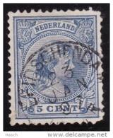 Leidschendam Op Nr 35(hoekje)  Cw Kleinrond Stempel  &euro  10,00 - Oblitérés