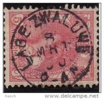 Lage Zwaluwe Op Nr 60  Cw Kleinrond Stempel  &euro  12,50 - Period 1891-1948 (Wilhelmina)