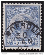 Moerdijk Op Nr 35  Cw Kleinrond Stempel  &euro  16,00 - Period 1891-1948 (Wilhelmina)
