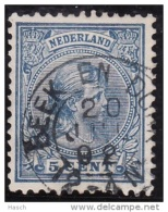 Beek En Donk Op Nr 35 Cw Kleinrond Stempel  &euro  12,50 - Period 1891-1948 (Wilhelmina)