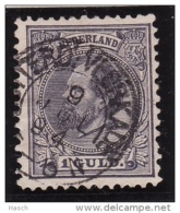 Rotterd:-Veerkade Op Nr 28(schaars Op Dit Zegel?)  Cw Kleinrond Stempel  &euro  22,50 - Used Stamps