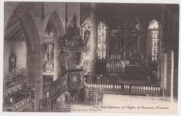 26252 BRASPARTS  (29) Vue Interieure De L'Eglise   -Ed Joncour N° 319 - Church - Autres Communes