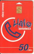 SERBIA - Red Card, Telecom Srbija Telecard 50 Din, Chip GEM3.1, Tirage %100000, 05/00, Used - Yougoslavie