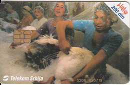 SERBIA - Happy Gypsies, Telecom Srbija Telecard 200 Din, 06/04, Used - Joegoslavië