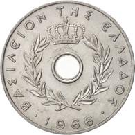 Grèce, 20 Lepta, 1966, SUP, Aluminium, KM:79 - Grèce