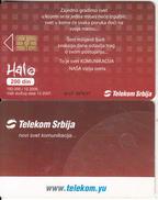SERBIA - Telecom.yu, Telecom Srbija Telecard 200 Din, Chip GEM3.3, 12/05, Used - Joegoslavië