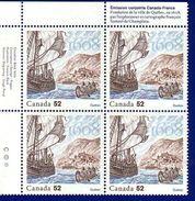 Canada 2008 Founding Of Quebec City (#2269) Block 4 Stamps MNH ! - 1952-.... Reinado De Elizabeth II