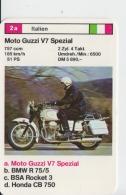 Moto Guzzi V7 Spezial Motorcycle 100/66 Mm - Motorbikes