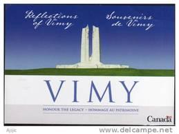 VIMY (Monument Commemoratif Du Canada A Vimy) Surplombant La Plaine De Douai. CP Neuve - WW1