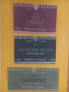 4323 - Fortant De France Vin De Pays D'Oc 6 étiquettes 1991 - 1992 - Vin De Pays D'Oc