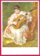 Auguste Renoir La Joueuse De Guitare Lyon France - Peintures & Tableaux