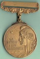 O425 CUBA CIRCA 1900. MEDALLA VETERANO GUERRA INDEPENDENCIA. SEGUNDO GRADO. METAL DORADO. EXCELENTE CONSERVACION. - Tokens & Medals