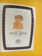 4333 - Baculus 1993 Petite Arvine  Du Valais Suisse - Etiquettes