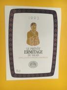 4334 - Le Prévôt 1993 Ermitage Du Valais Suisse - Etiquettes
