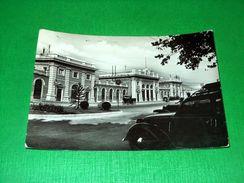 Cartolina Rimini - Stazione Ferroviaria 1950 Ca - Rimini