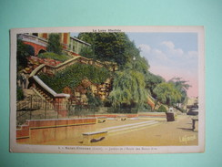 SAINT ETIENNE  -  42  -   Jardins  De L'Ecole Des Beaux Arts -  LOIRE - Saint Etienne
