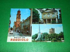 Cartolina Saluti Da Reggiolo - Vedute Diverse 1960 Ca - Reggio Nell'Emilia