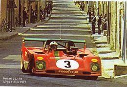 Ferrari 312 PB  -  Targa Florio 1972  -  Pilote: Arturo Merzario   -  CPM - Automovilismo