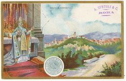 Veduta Di Carpineto Pape  1900  Litho - Vatican