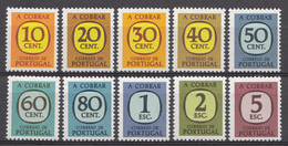 Portugal Tax 1967 Mi. Nr.:70-79 Portomarken  Neuf Sans Charniere / Mnh / Postfris - Neufs