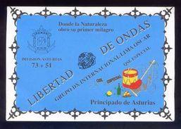 Tarjeta *Radioaficionado* *QSL Especial Principado De Asturias...* Meds: 110 X 161 Mms. Ver Dorso. - Radio Amateur