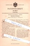 Original Patent - Jacques Kellermann In Berlin , 1901 , Blakeraufsatz Mit Selbstzünder !!! - Historische Dokumente