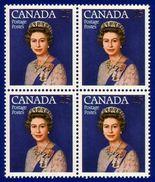 Canada 1977 Queen Elizabeth II Silver Jubilee (#704 CV$5.00) Block 4 Stamps MNH ! - 1952-.... Règne D'Elizabeth II