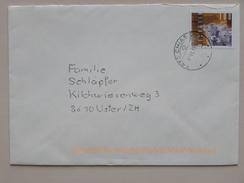 SUISSE / SCHWEIZ / SWITZERLAND // 2013, Brief Mit 100Rp. Sondermarke KUEHE, Gelaufen - Switzerland
