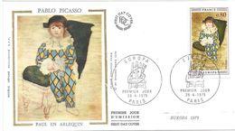 ENVELOPPE 1er JOUR - FDC - N° 1840 - ARLEQUIN - EUROPA - 1970-1979
