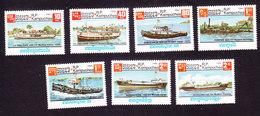 Cambodia, Scott #620-626, Mint Hinged, Ships, Issued 1985 - Cambodge