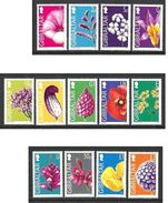 GIBRALTAR 2004 Fleurs N° 1093 à 1105 * * Neufs Lot - 1645 - Flora