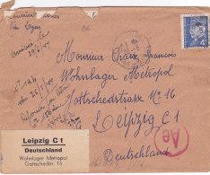 Bg - Enveloppe 1944 - Timbre Pétain - Marcophilie (Lettres)