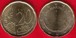 San Marino 20 Euro Cents 2017 UNC - San Marino