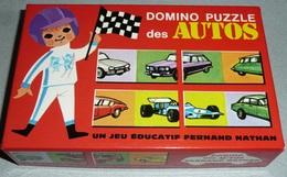 Ancien Jeu De Domino Puzzle Des Autos Fernand Nathan Automobiles Citroën Dominos, Camions Pompier - Jeux De Société