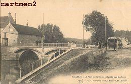 CHABLIS PONT SUR LE SEREIN MARCHE AUX COCHONS 89 - Chablis