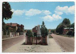 LIMEIL-BREVANNES --  Entrée Du Pays ,Monument Aux Morts ,cpsm 15 X 10 N°8 éd Arlixcolor - Limeil Brevannes