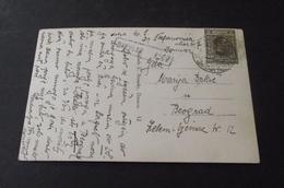 620. Postcard Virovitica-Beograd, Sent By Daruvar Kolodvor - 1919-1929 Königreich Der Serben, Kroaten & Slowenen