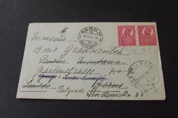 621. Letter Romania-Swiss-Kingdom Of Serbes,Croats And Slovenes - 1919-1929 Königreich Der Serben, Kroaten & Slowenen