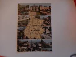 Dep 65 Carte Département Hautes Pyrénées    Multivues ( 10)  ( Neuve   ) Dentelée - Cartes Géographiques