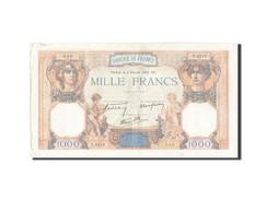 France, 1000 Francs, 1 000 F 1927-1940 ''Cérès Et Mercure'', 1939, 1939-02-... - 1871-1952 Anciens Francs Circulés Au XXème