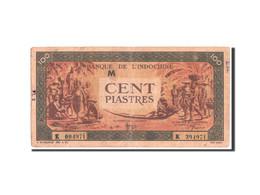 Indochine, 100 Piastres, 1945, Série M, KM:73 - Indochine