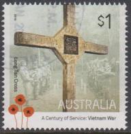 AUSTRALIA - USED 2016 $1.00 A Century Of Service - Vietnam War - Long Tan Cross - 2010-... Elizabeth II