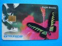 MALAYSIA  USED CARDS  BUTTERFLIES - Malaysia