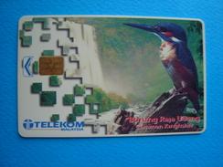 MALAYSIA  USED CARDS BIRD BIRDS - Malaysia
