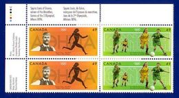 Canada 2004 Olympic Summer Games (#2050a) Block 4 Stamps MNH ! - Nuovi